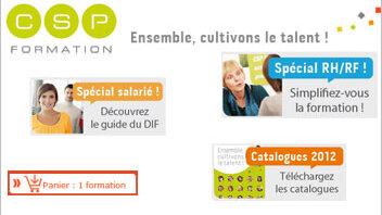 N°3 de la formation en France, CSP consolide sa stratégie web - D.R.