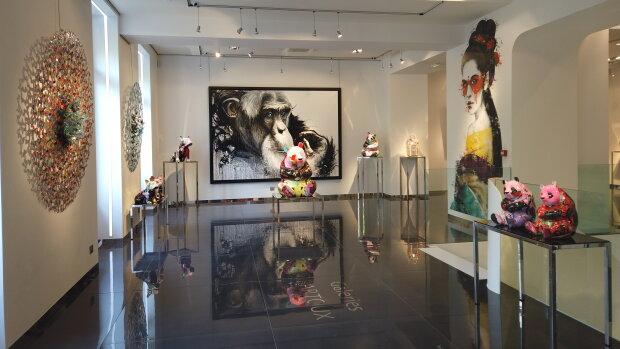La Galerie Bartoux à Paris.
