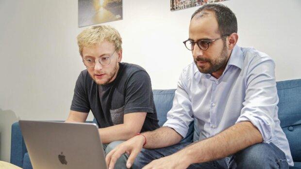 Eytan Koren et Mikael Asseraf, cofondateurs de Hello Syndic - © D.R.