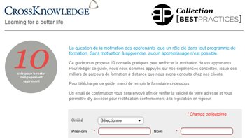 e-learning : 5 secrets pour booster l'engagement des apprenants ? - D.R.