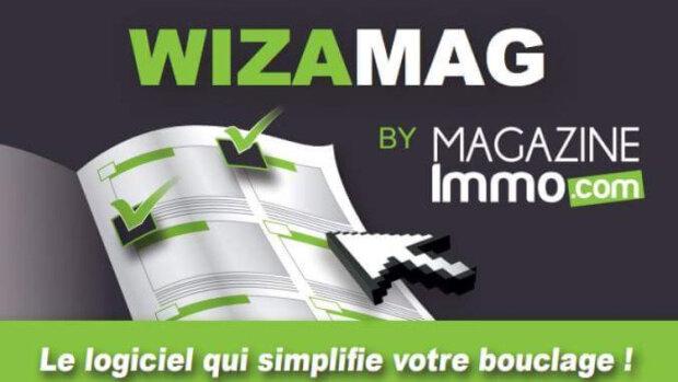Wizamag: un logiciel pour éditer son magazine immobilier - © D.R.