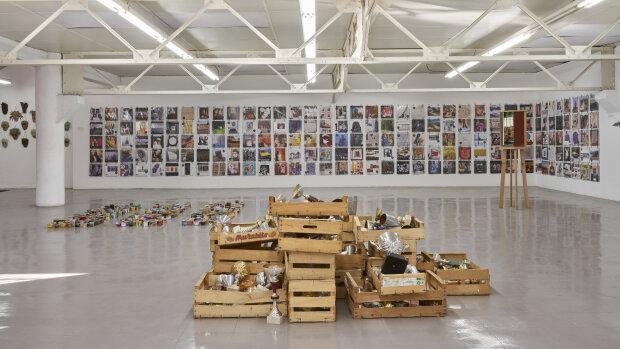L'exposition «L'éternel objet de ma décroissance» en septembre 2020 au Lieu Commun. - © Damien Aspe