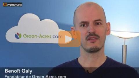 3 min avec Benoît Galy, Green-Acres.com - D.R.