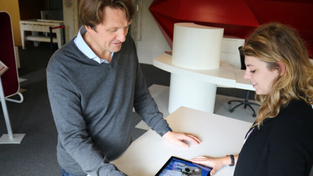 «Le Compositeur Digital réinvente le dialogue en agences», Denis Tellier, Excense - © D.R.