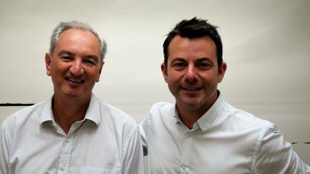 Fabien Gaymard et Mathieu Guérin, co-fondateurs de LivingRoom.immo - © D.R.