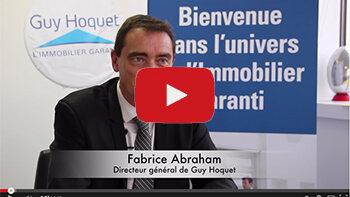 4 min 30 avec Fabrice Abraham, Directeur général de Guy Hoquet - D.R.