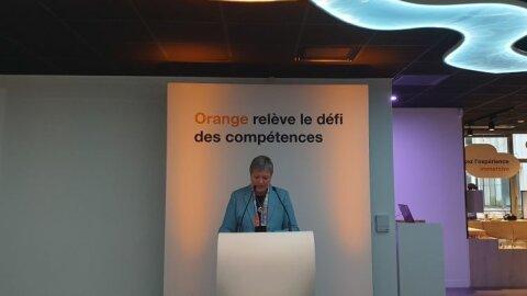 Orange enclenche un programme de montée en compétences numériques d'ici 2025 - D.R.