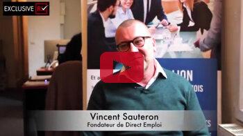 3 min avec Vincent Sauteron, Direct Emploi - D.R.