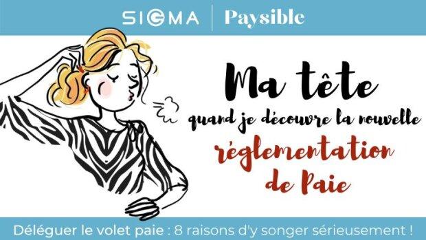 Essayez le service d'externalisation de paie Paysible par Sigma