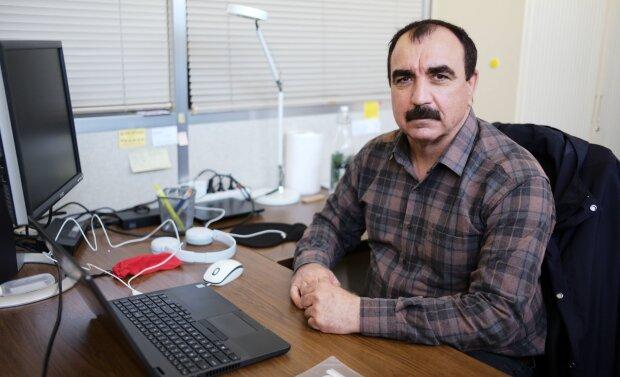 Haji Shallal est doctorant et lauréat Pause, réchappé du génocide des Yézidis - © Marine Dessaux