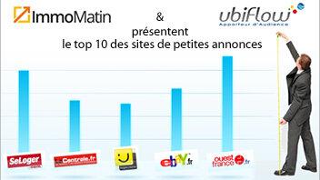 Le Top Immomatin / Ubiflow des sites immobiliers en France - © D.R.