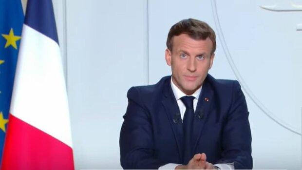 Emmanuel Macron et la stratégie nationale du reconfinement: préserver l'économie et le (télé)travail - © D.R.