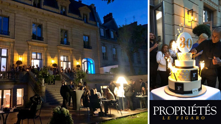 Propriétés Le Figaro fête ses 30 ans ! - D.R.