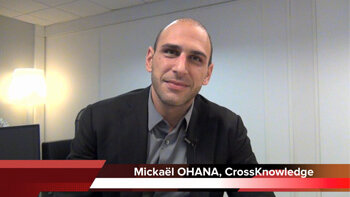 4 min 30 avec Mickaël Ohana, PDG de CrossKnowledge - D.R.
