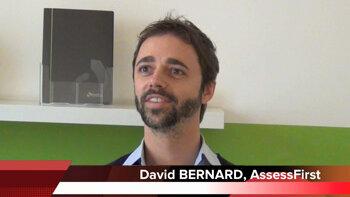 4 min 30 avec David Bernard,  co-fondateur d'AssessFirst - D.R.