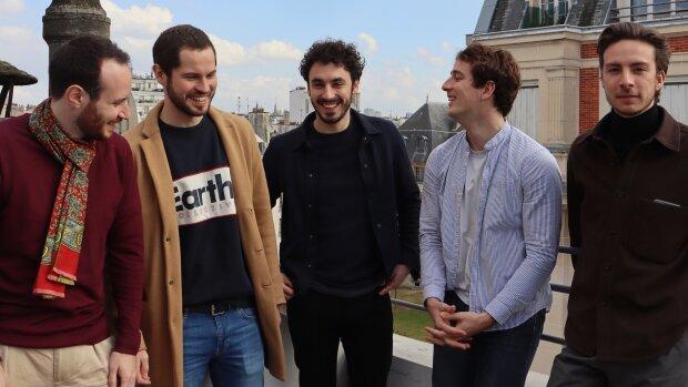 L'équipe Zefir avec, au centre, Rémy Fabre, son CEO - © D.R.