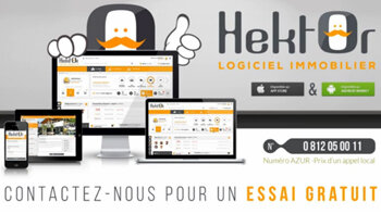 Video : Hektor, le logiciel immobilier pas comme les autres en moins de 2 minutes ! - D.R.