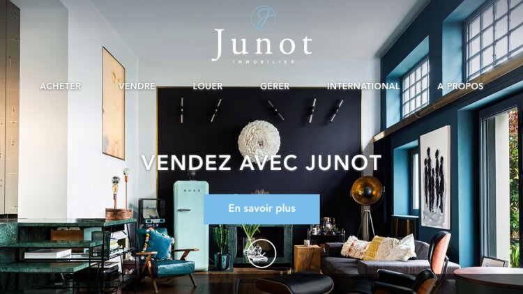 Home-page Junot - DR