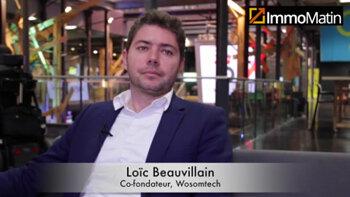 3 min avec Loïc Beauvillain, co-fondateur de Wosomtech - D.R.