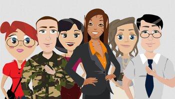 Les agents virtuels, véritable aide au recrutement? - © D.R.