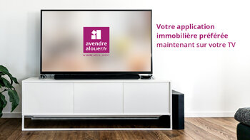 AVendreALouer lance son application sur Apple TV - © D.R.