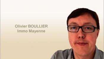 Paroles d'agent: «Nous sommes des commerciaux, pas des administratifs», Olivier Boullier, Immo Mayenne - D.R.