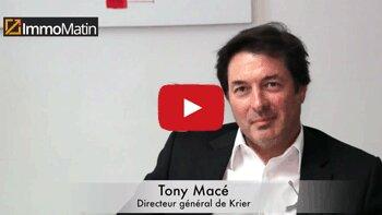 3 min avec Tony Macé, Directeur général de Krier - D.R.