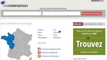 RegionsJob lance MaFormation.fr - © D.R.