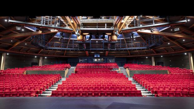 La salle Renaud-Barrault, un des trois espaces du Théâtre du Rond-Point. - © Giovanni Cittadini Cesi