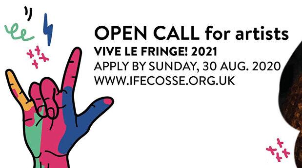 Appel à projets: l'Institut Français d'Ecosse accueille des spectacles pour le Fringe 2021