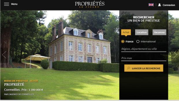 L'audience de Propriétés Le Figaro a doublé en 1 an - © D.R.