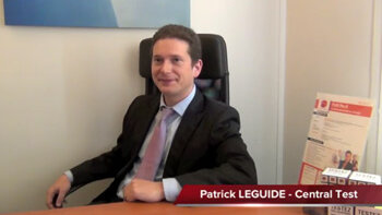 4 min 30 avec Patrick Leguide, fondateur de Central Test - D.R.