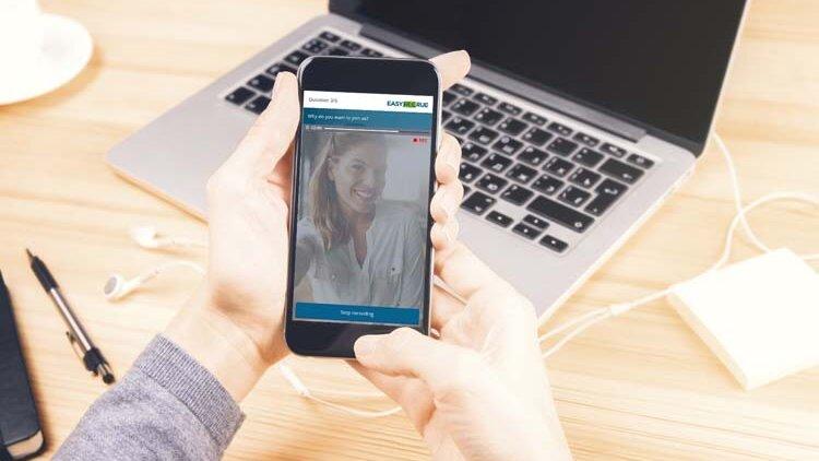 Easyrecrue : la mobilité et l'intelligence artificielle pour doper le recrutement vidéo - D.R.