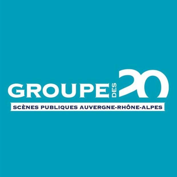Groupe des 20 - Scènes publiques en Auvergne-Rhône-Alpes