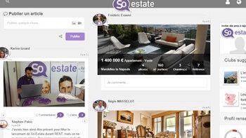 So-Estate : un nouveau réseau social pour les professionnels de l'immobilier - D.R.