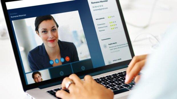 Visiotalent: solution professionnelle pour organiser les entretiens de recrutement - © D.R.