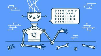 Chez Job Link, les candidats bavardent avec un robot - © D.R.