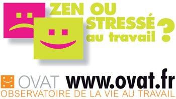 """L'OVAT lance sa nouvelle enquête """"Zen ou stressé au travail?"""" - D.R."""