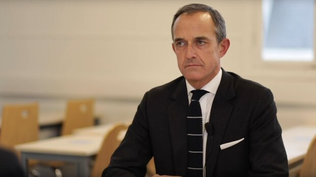 Frédéric Mion a accordé une unique interview à Science PO TV après l'affaire Duhamel. - © Science Po TV/ CaptYT