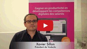 4min30 avec Xavier Sillon, président de Vodeclic - © D.R.