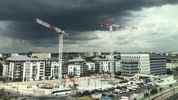 Le marché du logement neuf a bu la tasse en 2020 - © D.R.