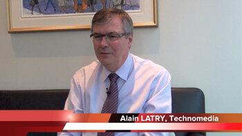 4 min 30 avec Alain Latry, CEO de Technomedia - D.R.