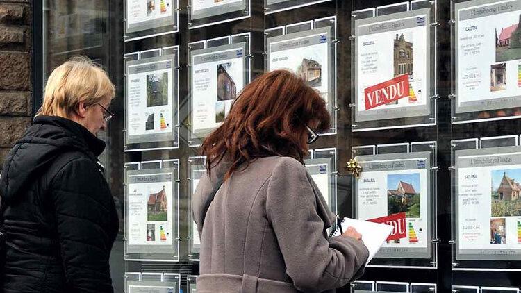 La remontée des taux fragilise le marché immobilier - D.R.