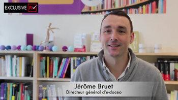 Vidéo: «e-doceo change de nom et devient Talentsoft Learning», Jérôme Bruet, e-doceo - D.R.