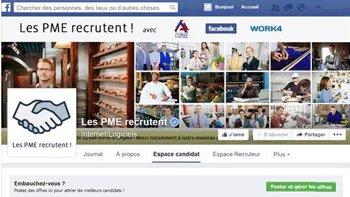 """Pôle emploi rejoint l'initiative """"Les PME recrutent !"""" - D.R."""