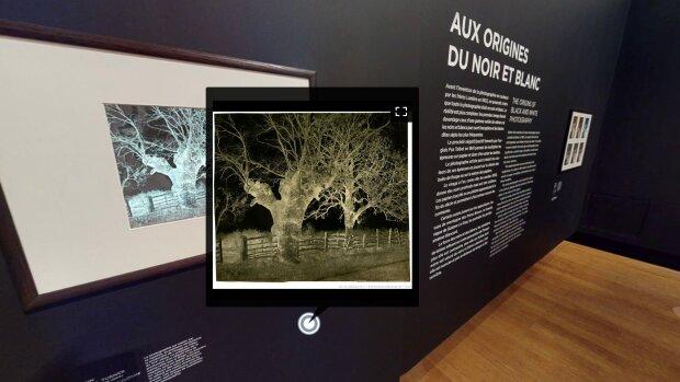 L'exposition virtuelle «Noir et Blanc» a attiré 320 visiteurs lors de son weekend d'ouverture. - © D.R.