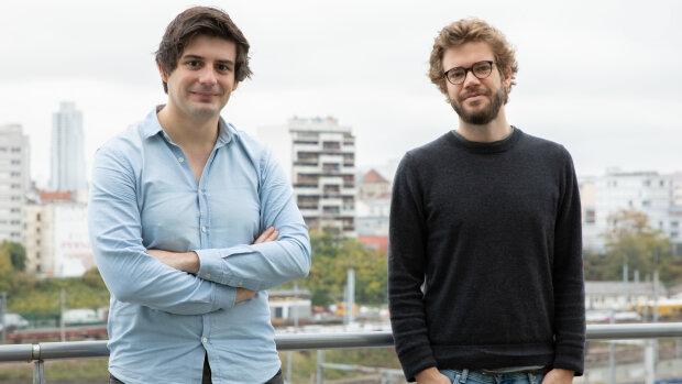 Xavier Coudert et Sylvain Le Falher, cofondateurs de Hello Watt - © CHOUKHRI DJE