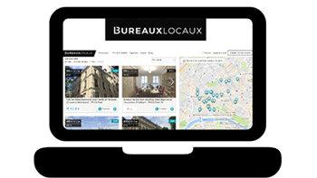 BureauxLocaux dévoile un nouveau site plus performant - © D.R.