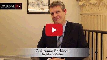 3 min avec Guillaume Berbinau, président du groupe Octime - © D.R.