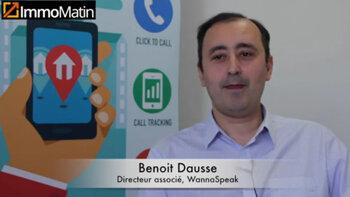 3 min avec Benoit Dausse de WannaSpeak - D.R.